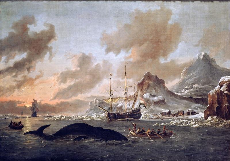Gemälde eines Wals